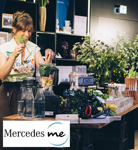 Veganer Rohkost Workshop Mercedes me