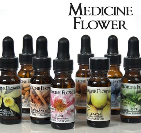 Natürliche Aromen von Medicine Flower