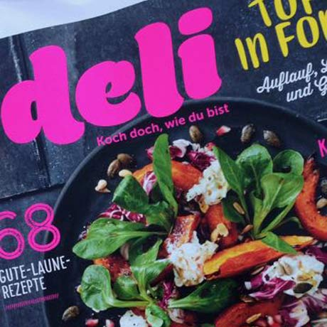 Eat like Eve im deli Magazin