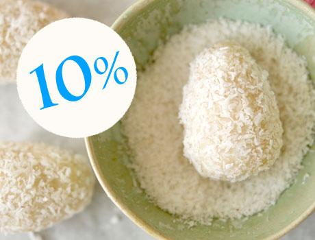 10% auf unsere veganen Mischungen