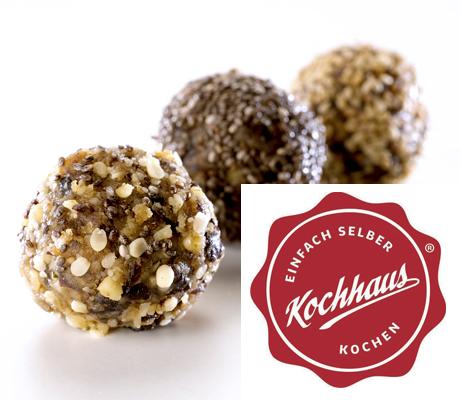 Bliss Balls im Kochhaus