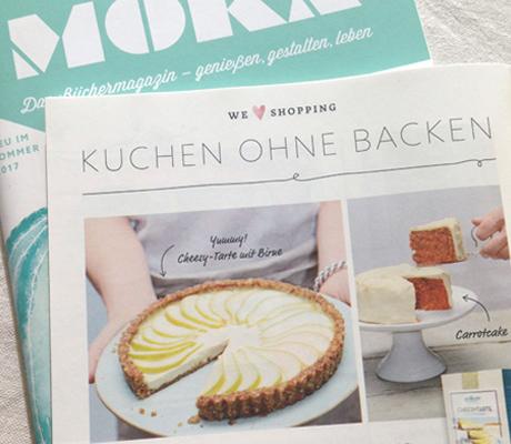 Vegane Kuchenmischung ohne Ofen - Eat like Eve
