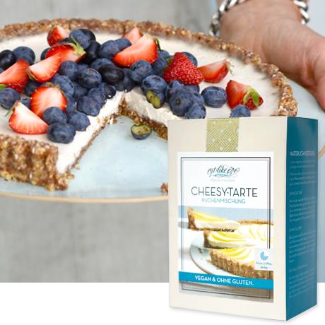 Vegane Kuchenmischungen, glutenfrei, zuckerfrei, laktosefrei